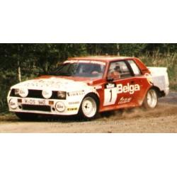 Toyota Celica Twincam Turbo TA64 1 Rallye Haspengauw 1985 Kankkunen Gallagher IXO RAC282