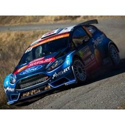 Ford Fiesta R5 WRC 21 Rallye Monte Carlo 2019 Greensmith Edmonson IXO RAM702