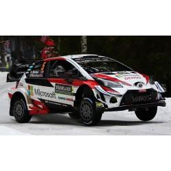 Toyota Yaris WRC 5 Rallye Suède 2019 Meeke Marshall IXO RAM709