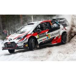 Toyota Yaris WRC 8 Rallye Suède 2019 Tanak Jarveoja IXO RAM704