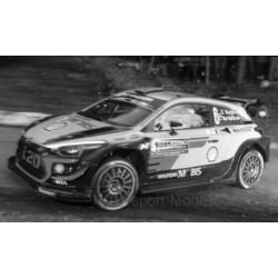 Hyundai i20 WRC 6 Rallye Monte Carlo 2018 Sordo Del Barrio IXO 18RMC030C