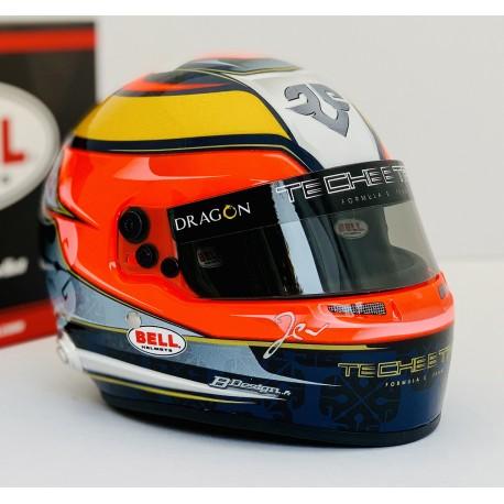 Casque Helmet 1/2 Jean Eric Vergne Formula E 2018 Bell