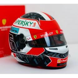 Casque Helmet 1/2 Charles Leclerc F1 2019 Bell