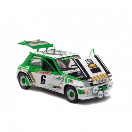 Renault R5 Turbo GrB 6 Rallye de Lozere 1985 Serpaggi Legal Solido S1801303