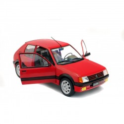 Peugeot 205 GTI 1.9L MK1 1985 Red Solido S1801702