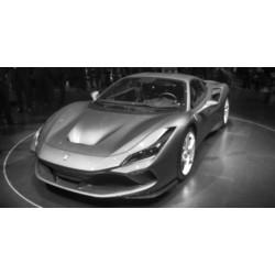Ferrari F8 Tributo Giallo Tristrato Looksmart LS503C