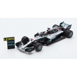Mercedes F1 W09 EQ Power+ 44 F1 World Champion Mexique 2018 Lewis Hamilton Spark S6067