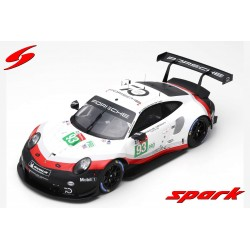 Porsche 911 RSR 93 24 Heures du Mans 2018 Spark 12S013
