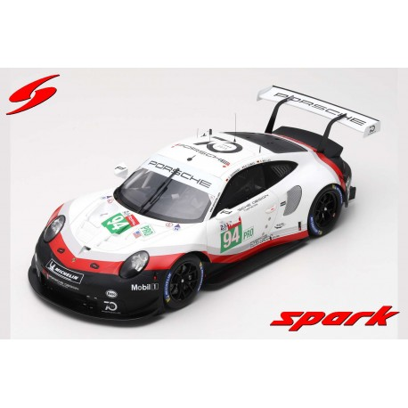 Porsche 911 RSR 94 24 Heures du Mans 2018 Spark 12S014