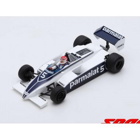 Brabham BT49 F1 Argentine 1981 Nelson Piquet Spark 18S166