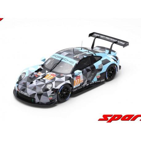 Porsche 911 RSR 77 24 Heures du Mans 2018 Spark 18S397