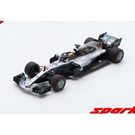 Mercedes F1 W09 EQ Power+ 44 F1 Abu Dhabi 2018 Lewis Hamilton Spark S6068