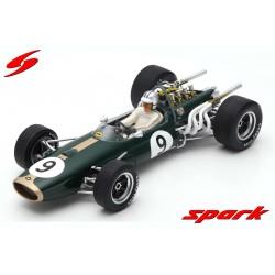 Brabham BT20 9 F1 Monaco 1967 Denny Hulme Spark 18S370