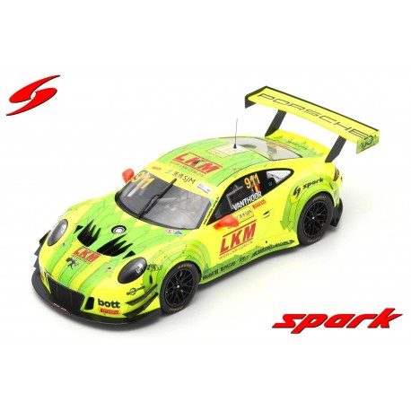 Porsche 911 GT3 R 911 FIA GT World Cup Macau 2018 Laurens Vanthoor Spark 18SA021