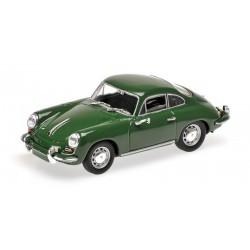 Porsche 356 C Coupe 1963 Verte foncée Minichamps 430062329