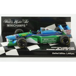 Benetton Ford B194 F1 Monaco 1994 Michael Schumacher Minichamps 400940005