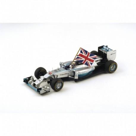 Mercedes F1 W05 F1 Abu Dhabi 2014 Lewis Hamilton Spar 18S159