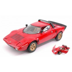 Lancia Stratos Stradale Rouge 1975 Sunstar SUN4521