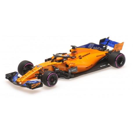 McLaren Renault MCL33 F1 Essais Abu Dhabi 2018 Lando Norris Minichamps 537186404