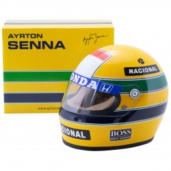Casque 1/2 Ayrton Senna F1 1988 Sports Mini Line ASHS1988