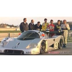 Sauber Mercedes C9 Test Jerez 1990 Michael Schumacher Minichamps 510903599