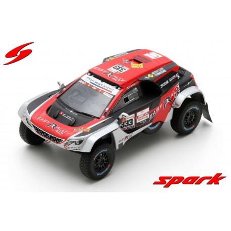 Peugeot 3008 DKR Maxi 333 Easy Rally Rallye Dakar 2019 Besson Brucy Spark S5629