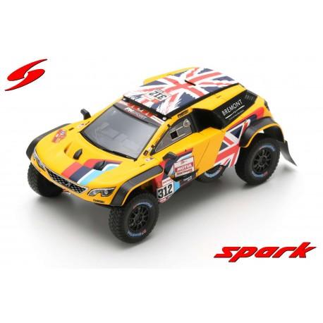 Peugeot 3008 DKR Maxi 312 PH Sport Rallye Dakar 2019 Hunt Rosegaar Spark S5627