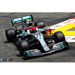 Mercedes F1 W10 EQ Power+ F1 Monaco 2019 Valtteri Bottas Minichamps 417190677