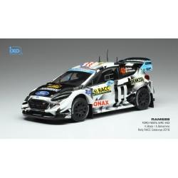 Ford Fiesta WRC 43 Rallye de Catalogne 2018 Block Gelsomino IXO RAM688