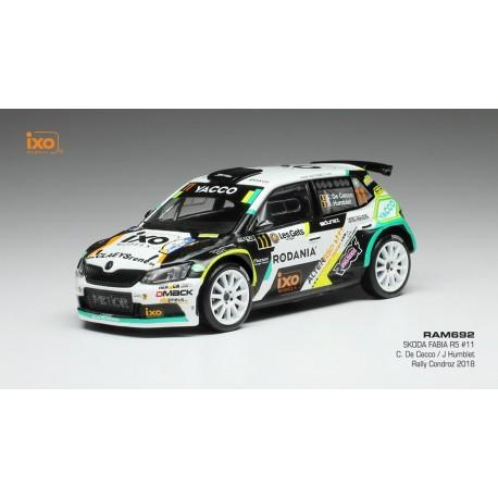 Skoda Fabia R5 11 Rallye du Condroz 2018 de Cecco Humblet IXO RAM692