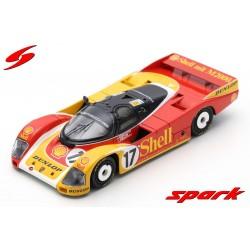 Porsche 962 C 17 24 Heures du Mans 1988 Spark S0901