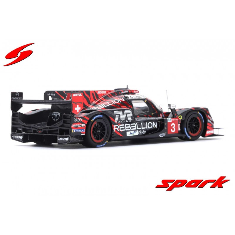 Rebellion r13 gibson 3 24 heures du mans 2018 spark s7002 - Rebellion r13 ...