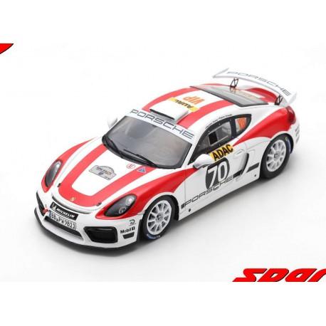 Porsche Cayman GT4 Clubsport 70 Rallye d'Allemagne 2018 Romain Dumas Spark SG274