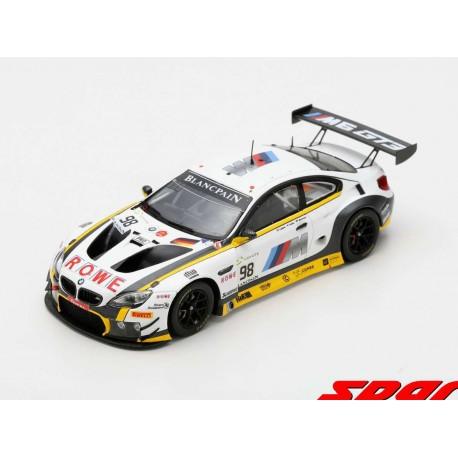 BMW M6 GT3 98 24 Heures de Spa Francorchamps 2018 Spark SB222