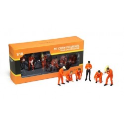F1 Pit Crew Figurines Jagermeister Racing (Set of 6) Truescale TSM11AC01