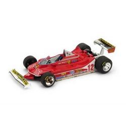 Ferrari 312 T4 12 F1 Grand Prix de France 1979 Gilles Villeneuve Brumm BRUR512