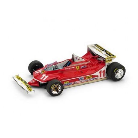 Ferrari 312 T4 Jody Scheckter 1979 échelle 1:43 F1 modèle de voiture Formule un Miniature