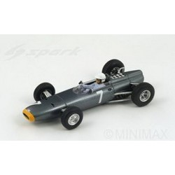 BRM P261 7 F1 Grand Prix de Monaco 1964 Richie Ginther Spark S1157