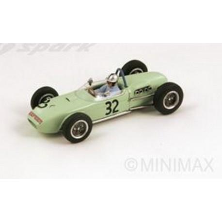 Lotus 18 32 F1 Grand Prix de Monaco 1961 Cliff Allison Spark S1827