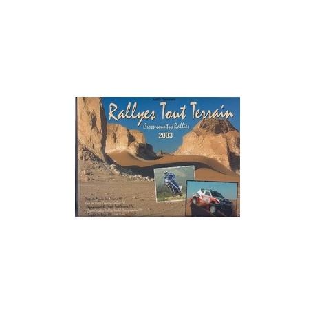 Book Rallyes Tout Terrain 2003