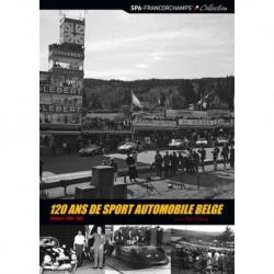 120 ans de sport automobile Belge Histoire de l'automobile Vol.1 1896-1965 (JP Delsaux) FR