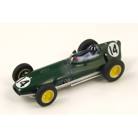 Lotus 16 F1 Pays-Bas 1959 Graham Hill Spark S1835