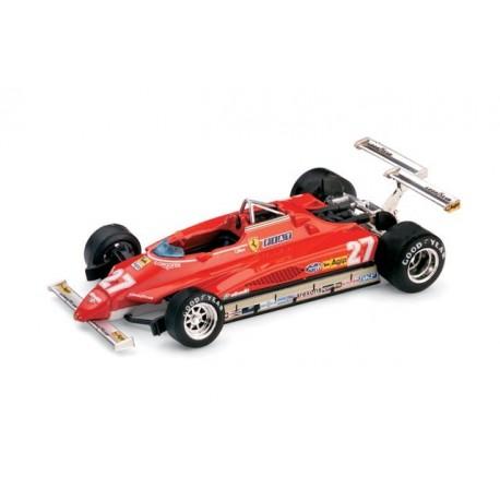 Ferrari 126C2 Turbo 27 F1 USA 1982 Gilles Villeneuve Brumm R272