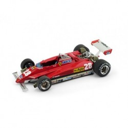 Ferrari 126C2 28 F1 Italie 1982 Didier Pironi Brumm R268