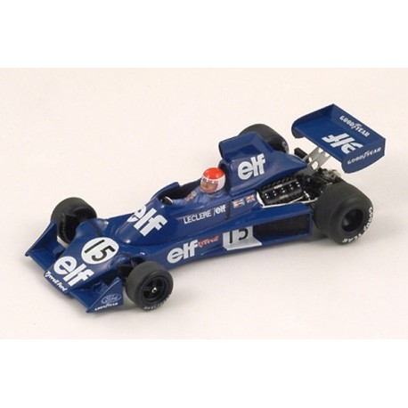 Tyrrell 007 F1 USA 1975 Michel Leclere Spark S1881
