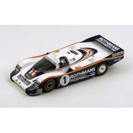 Porsche 956 1 24 Heures du Mans 1982 Spark S18LM82