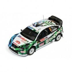 Ford Focus RS 08 5 RAC Rally 2009 Wilson Martin IXO RAM404