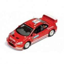 Peugeot 307 WRC 8 Rallye de Suède 2005 Martin Park IXO RAM183