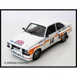 Ford Escort RS 1800 Tarmac 14 Rallye de Monte Carlo 1976 Makinen Liddon Trofeu T2503