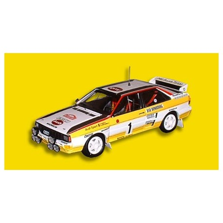 Audi Quattro A2 1 Rallye Monte Carlo 1984 Rohrl Geistdorfer Trofeu T1610